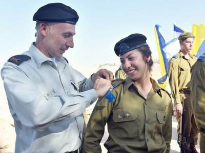 מרגש: סג״מ שי אילוז מגן נר ממשיכה את דרכו של אביה