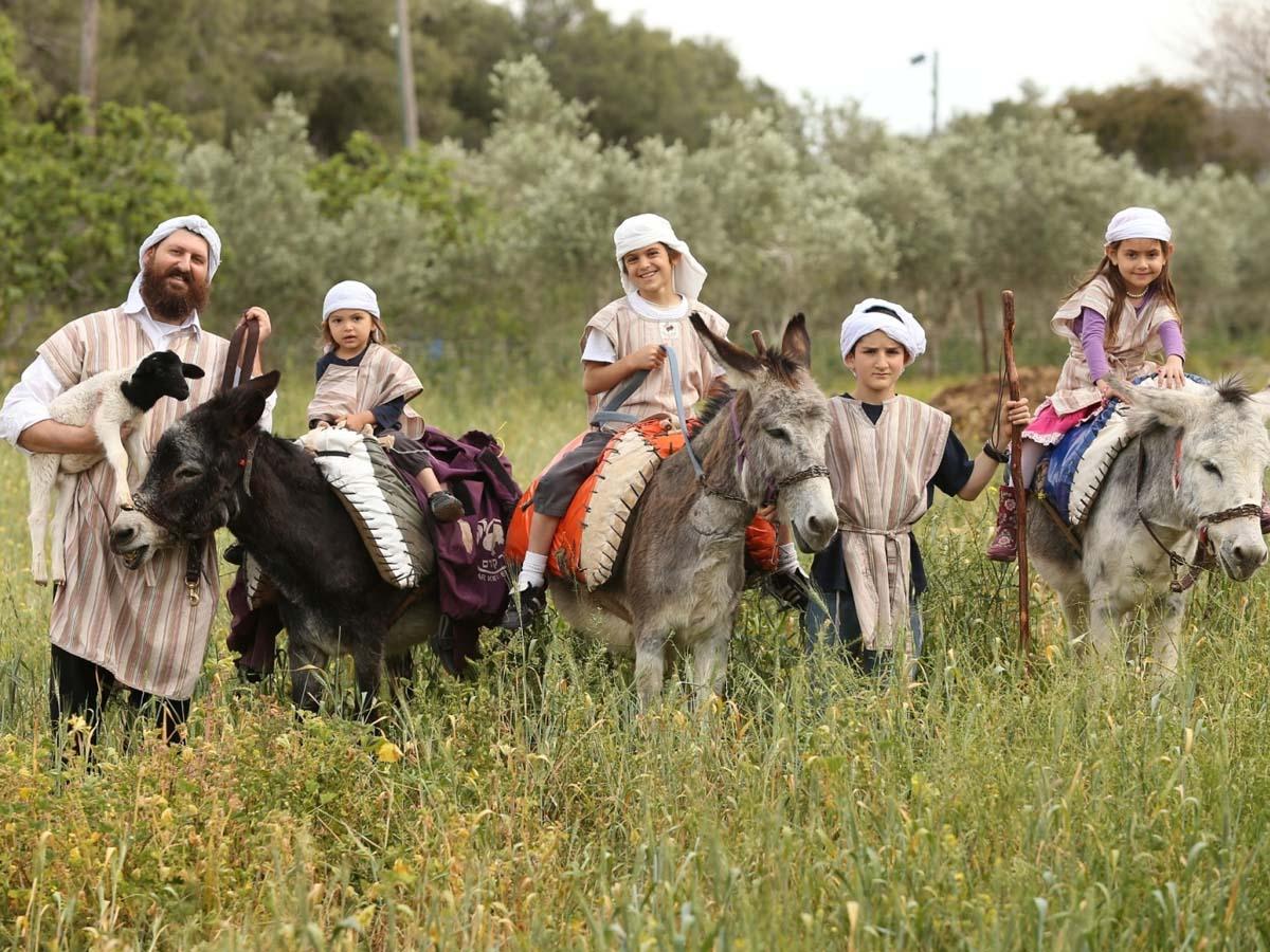 מבלים ונהנים בכפר קדם צילום: מנחם גולדברג