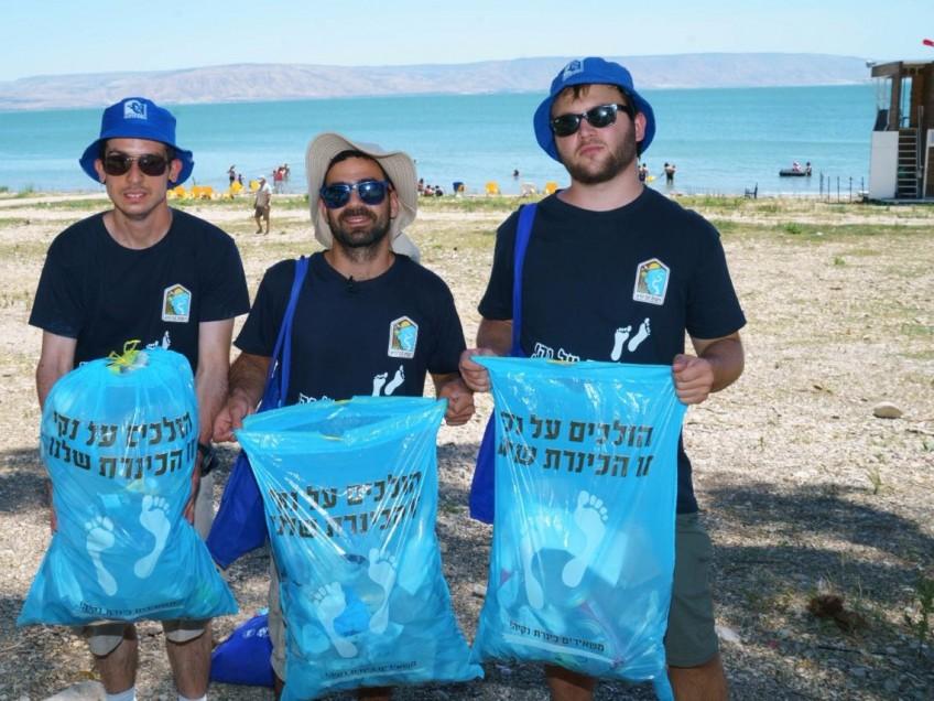 אפשר לסכם: שיפור בהתנהגות הנופש הישראלי בכנרת