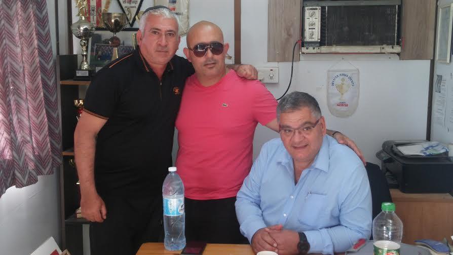 ראש עיריית מגדל העמק הגיע לתמוך בקבוצת הכדורגל