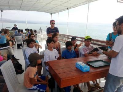 החופש הגדול: צאו להפלגה כיפית עם פעילות חווייתית ב- 'אקו כינרת'
