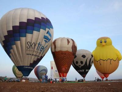 מרהיב: פסטיבל הכדורים הפורחים מגיע לגלבוע