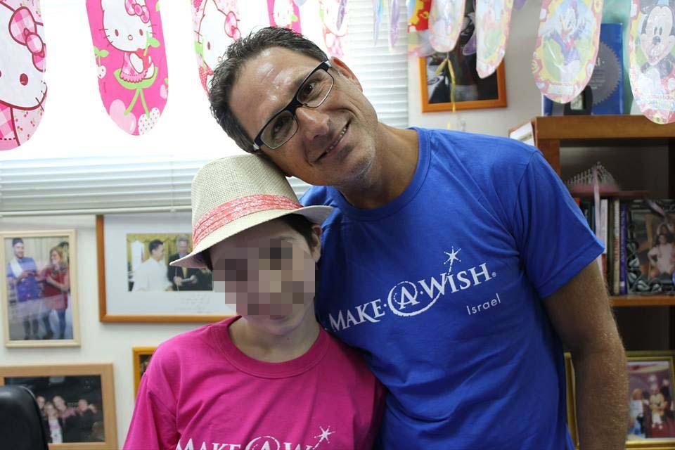 קובי גטניו מקים סניף צפוני לעמותת MAKE AWISH, וקורא להתנדב לעמותה ולהירתם למען הילדים