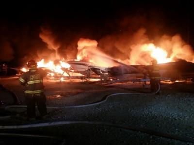 גינוסר: 14 סירות עלו באש ונוספות ניזוקו בשריפה