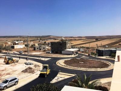 הסתיים שלב א' בבניית הכביש ההיקפי בנעורה