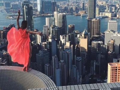 סלפי בשחקים – הבחורה שצילמה את הסלפי המושלם ועוררה סערה ברשת