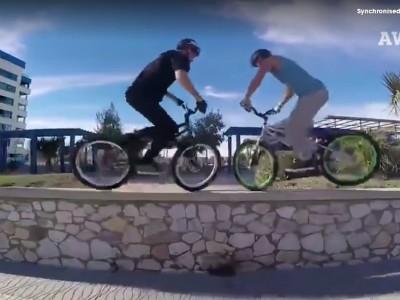 אלו רוכבי האופניים המתואמים ביותר בעולם