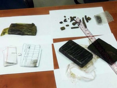 נצרת: חצי קילו חשיש נתפס על ידי המשטרה משנה