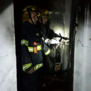 שרפה בבניין דירות במגדל העמק