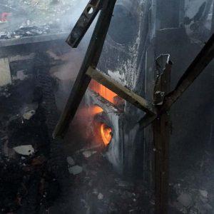 דירה נשרפה בנצרת