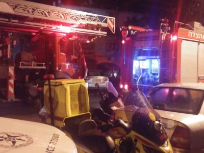 שוב שריפה גדולה במגדל העמק: בן 40 נפגע באורח קשה