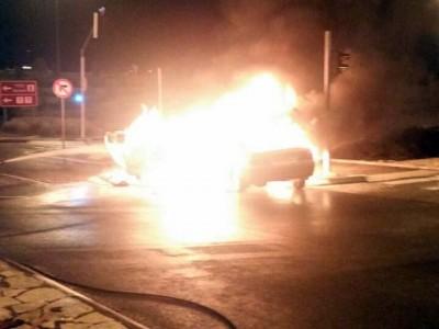 יקנעם: בן 19 נעצר בחשד להצתת רכב