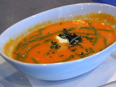 מחמם חורפי: מרק כתום של השף איתי הלוי