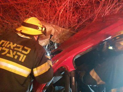 סמוך לבלפוריה: שני צעירים נהרגו בתאונת דרכים