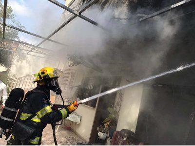 חם: בית עלה באש בכפר נין