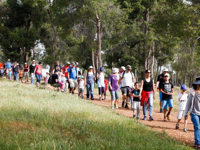 עשרות אלפים צפויים להשתתף השנה בצעדת הגלבוע הבינלאומית המסורתית
