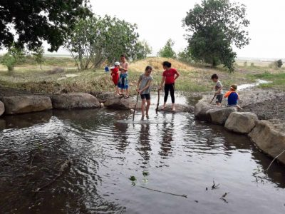 גלבוע: שיקום מסיבי לנחל נבות לקראת מטיילי הקיץ