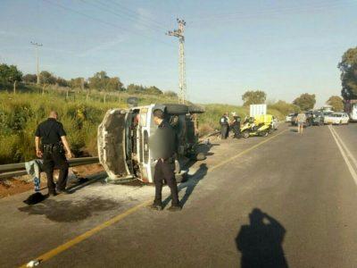 כתב אישום נגד נהג משאית בגין חמש עבירות של גרימת מוות ברשלנות