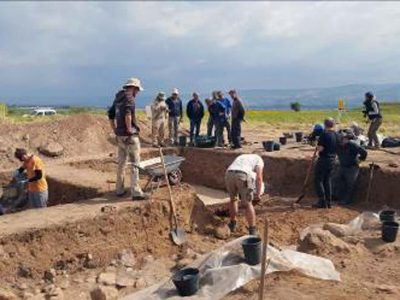 """חוקרים מארה""""ב חיפשו תשובה לנוכחות הרומית בעמק"""