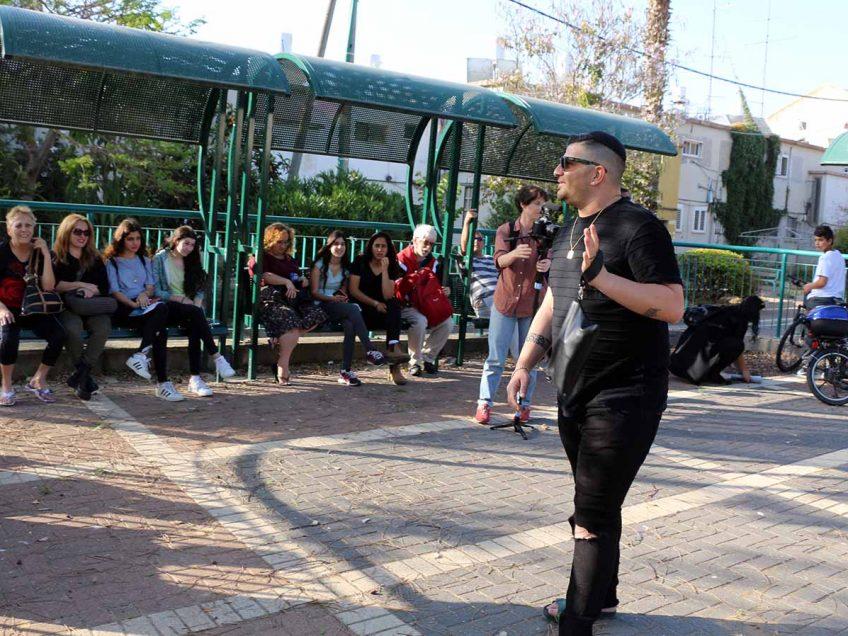 """""""הליכות ג'יין"""": מאות צעדו בסיורים מרתקים רחובות עפולה"""