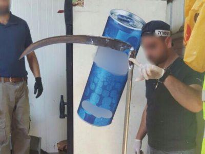 חשד: דקרו עם סכין באורך 2 מטר שבע פרות בעמק יזרעאל