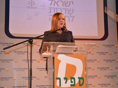 """שלושה ימים לפני הבחירות להסתדרות: שלי יחימוביץ ב""""שבתרבות"""" בעפולה"""