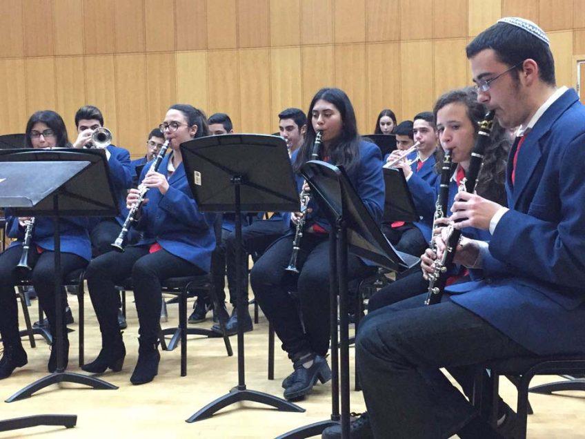 כבוד: שישה נגנים צעירים מעפולה התקבלו לתזמורת הנשיפה הלאומית של ישראל