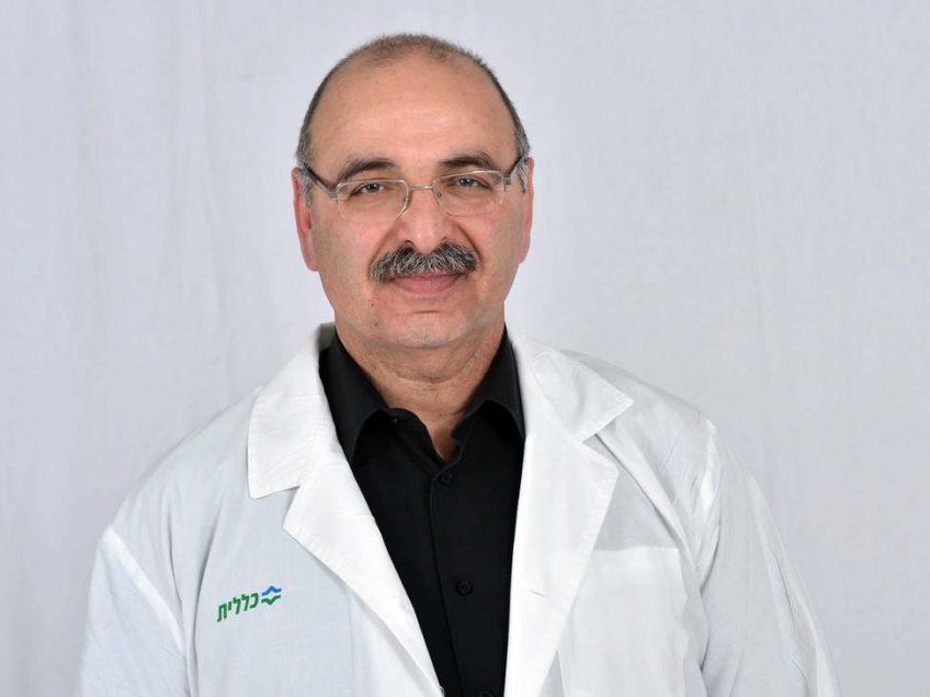 """ד""""ר סלים מזאוי, מנהל מחלקת אף אוזן וגרון במרכז רפואי העמק"""