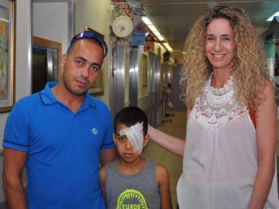 העמק: משחק באקדח כדורי גומי הוביל לפגיעה קשה בעין של ילד בן 9