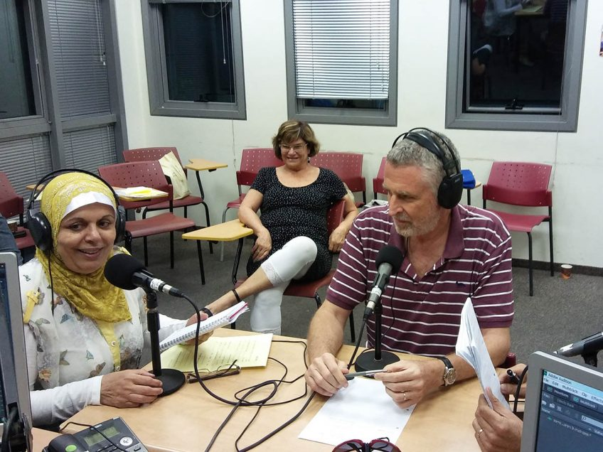 עמותת 'צועדים יחד לעתיד משותף': בדרך לדו קיום רדיופוני