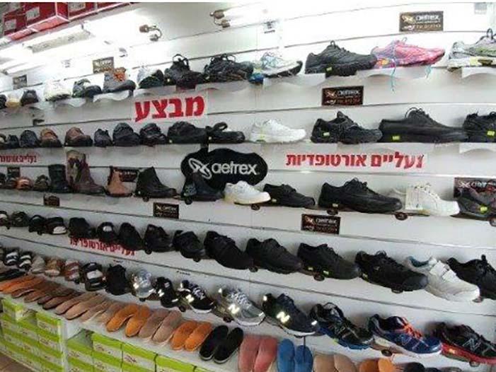 ניתן למצוא במקום מגוון נעליים אורתופדים במחירים אטרקטיביים