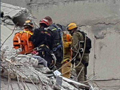 מרוץ נגד הזמן: אורון דמרי- לוחם אש מעפולה מסייע לאיתור נעדרים שנפגעו ברעידת אדמה במקסיקו