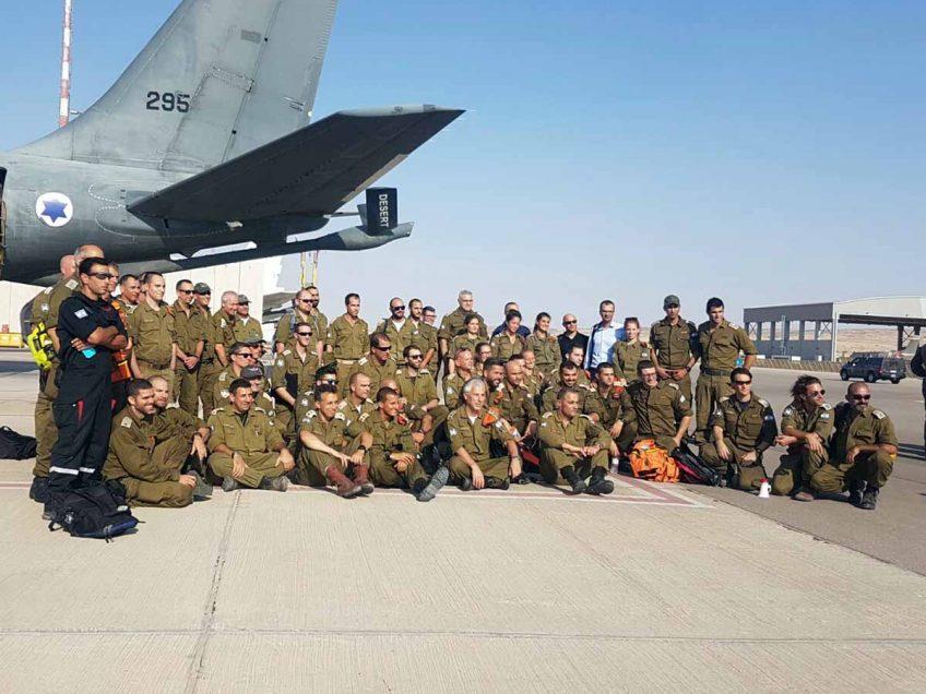 המשלחת הישראלית לחילוץ הלכודים ברעש האדמה במקסיקו