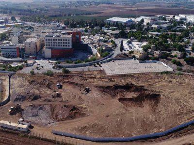 מרכז רפואי העמק של כללית: החלה בנייתו של מרכז הסרטן