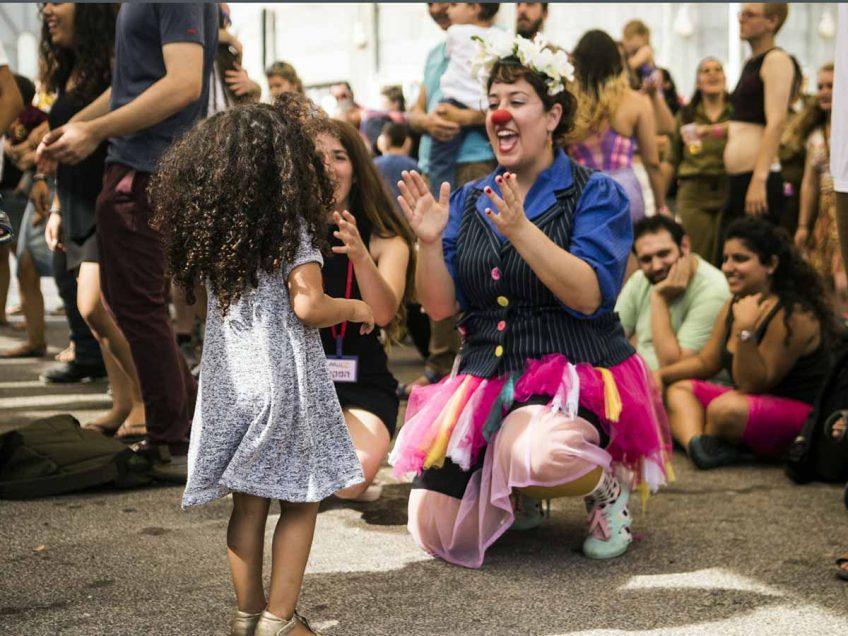 פעילות צבעונית ותוססת בפסטיבל בשנה אשתקד