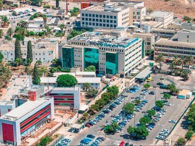 """בנין מרפאות חדש בעלות 50 מיליון ש""""ח נחנך במרכז רפואי העמק"""