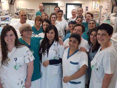 הפגייה במרכז רפואי העמק: במקום השני בישראל ב-2017
