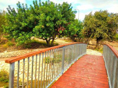 תכירו: הגשרון שישמור על חיי רוכבי האופניים בעמק יזרעאל