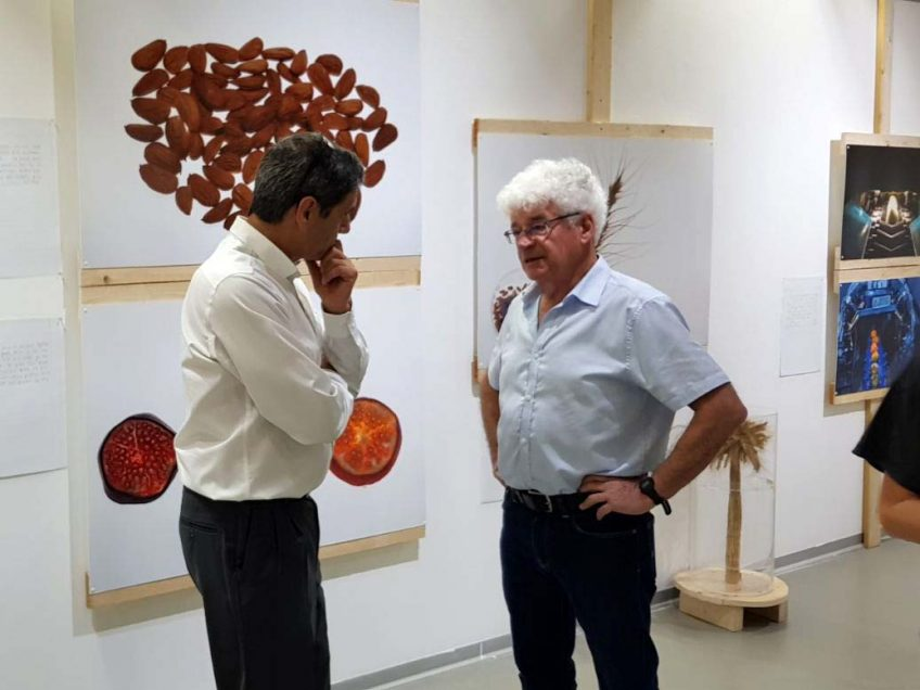 תערוכה של מכון וולקני בגלריה העירונית בעפולה