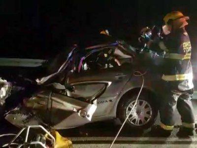ההרוג בתאונה הקטלנית בין מרחביה לצומת נבות: תושב בית שאן- בן 42
