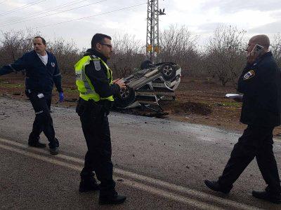 סמוך לשדמות דבורה: הרוגה בתאונת דרכים קטלנית