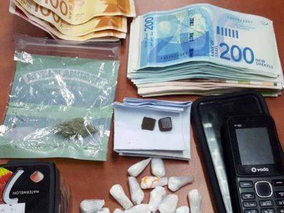 בית שאן: 21 מנות קוקאין נתפסו בביתו של תושב העיר