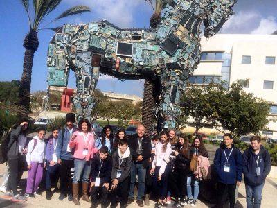 תלמידי הגלבוע בכנס החלל הבינלאומי השבוע