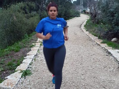 """המהפך של שרון: """"אני לא אשכח את היום שרצתי קילומטר. צרחתי כמו מטורפת"""""""