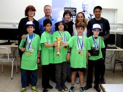 """ביה""""ס היסודי """"עמק חרוד"""" זכה באליפות הסייבר הישראלית לקבוצות"""