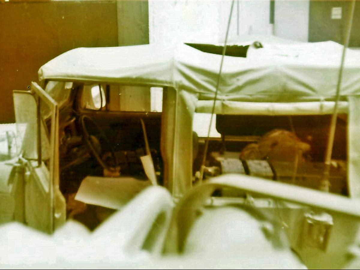 הגיפ שבו ישב יצחק אדרי זל