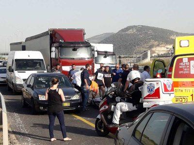 גלבוע בסמוך לצומת נבות: בן 26 נפצע באורח קשה מירי