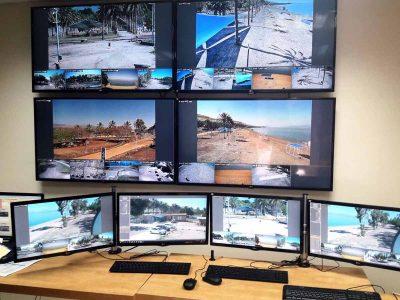 לראשונה- הותקנו מצלמות אבטחה 24/7 בחופי איגוד ערים כינרת