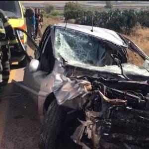 תאונה בסמוך לצומת נבות