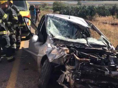 גלבוע: בן 20 נהרג בתאונת דרכים בין צומת נבות עין חרוד